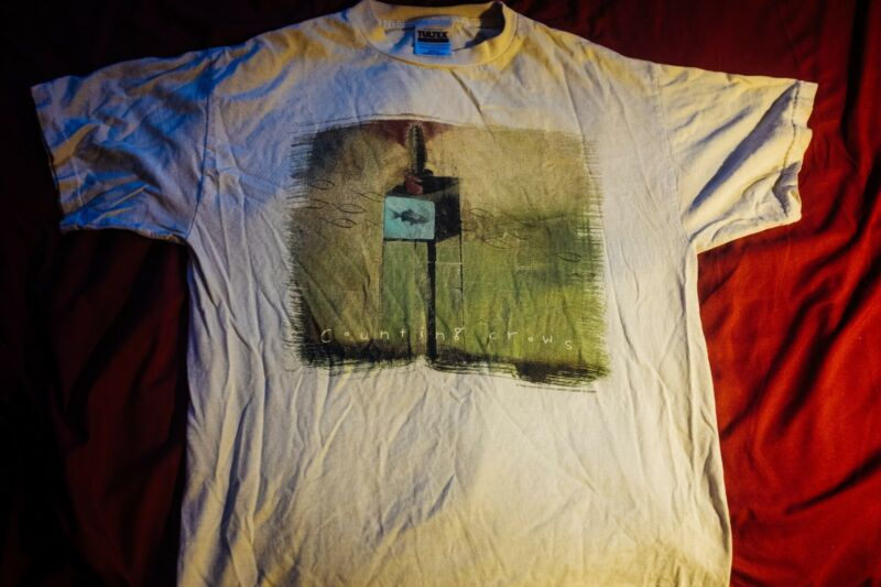 Vintage Counting Crows Tour  T Shirt 1999 (Size M, Very Good Condition)