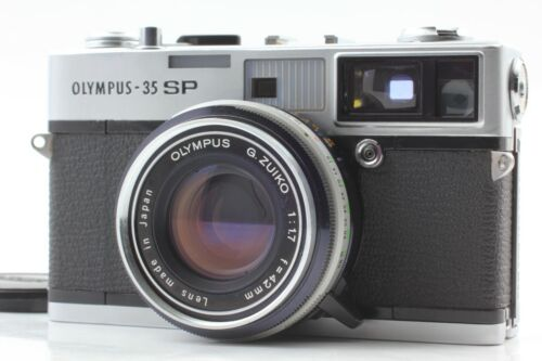 【NEAR MINT /READ】 Olympus 35 SP Rangefinder Camera G.Zuiko 42mm f/1.7 From Japan