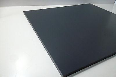 8220) PVC, Polyvinylchlorid, dunkelgrau, 12mm