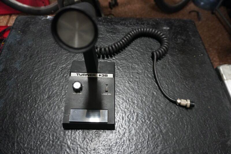 Vintage TURNER +3B Power Cb Base Station Microphone