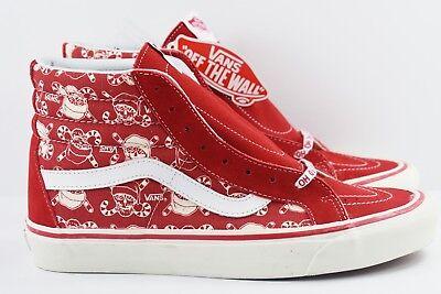 6527b0889c Vans SK8 Hi 38 Reissue 50th Anniversary Mens Size 8 Skate Shoes Pirate Santa