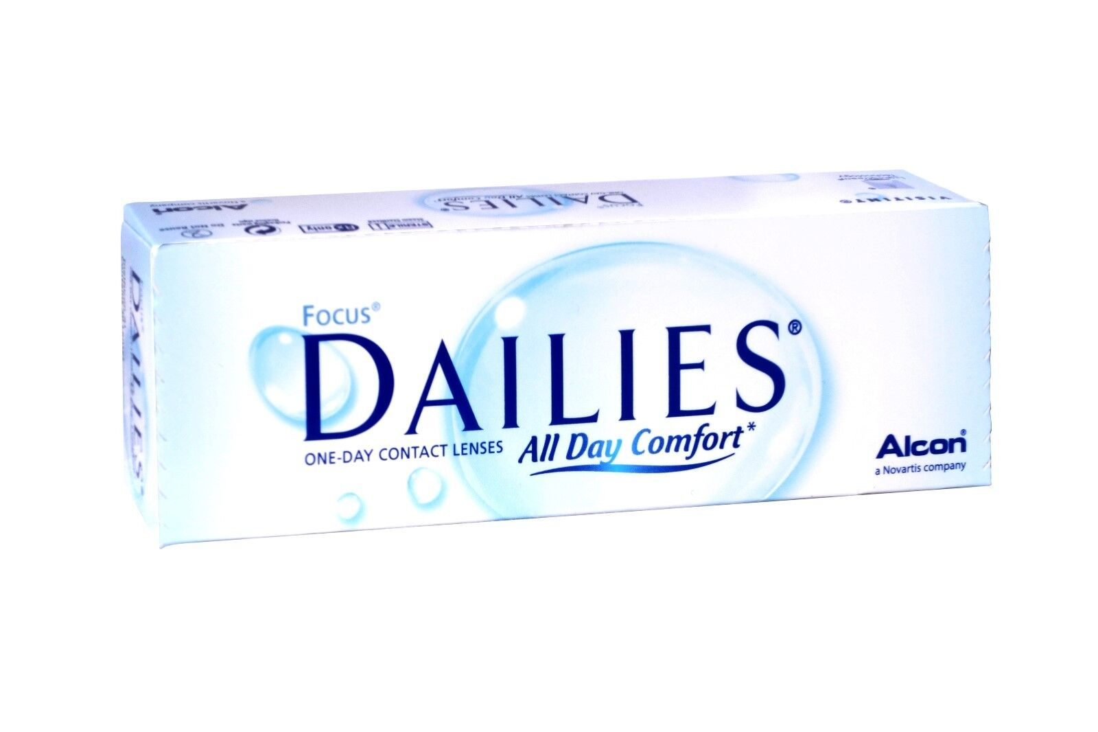 Focus Dailies All Day Comfort - 30er Box - Tageslinsen - weiche Kontaktlinsen