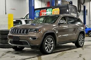2018 Jeep Grand Cherokee LIMITED * LUXE * TOIT PANO * HITCH 6200