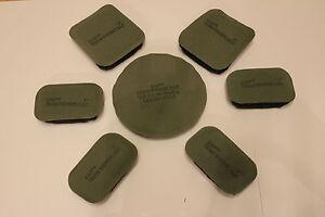 US Army MICH ACH  Helmet Pads Helmpolster kompletter Satz 7 Teile 1