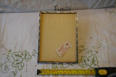 Antique Staybright 'Untarnishable' Chromium Steel Picture Frame, unglazed