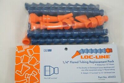 Loc-line Usa 14 Flared Tubing Replacement Pack 40452