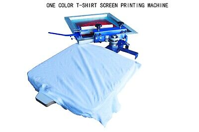Diy Brand New 1 Pc One Color T-shirt Screen Printing Machine Fast Shipping