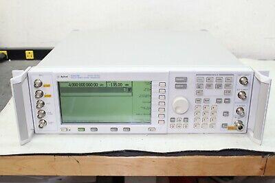 Agilent E4437b 250 Khz - 4 Ghz Esg-dp Signal Generator Real-time Iq Baseband Gen