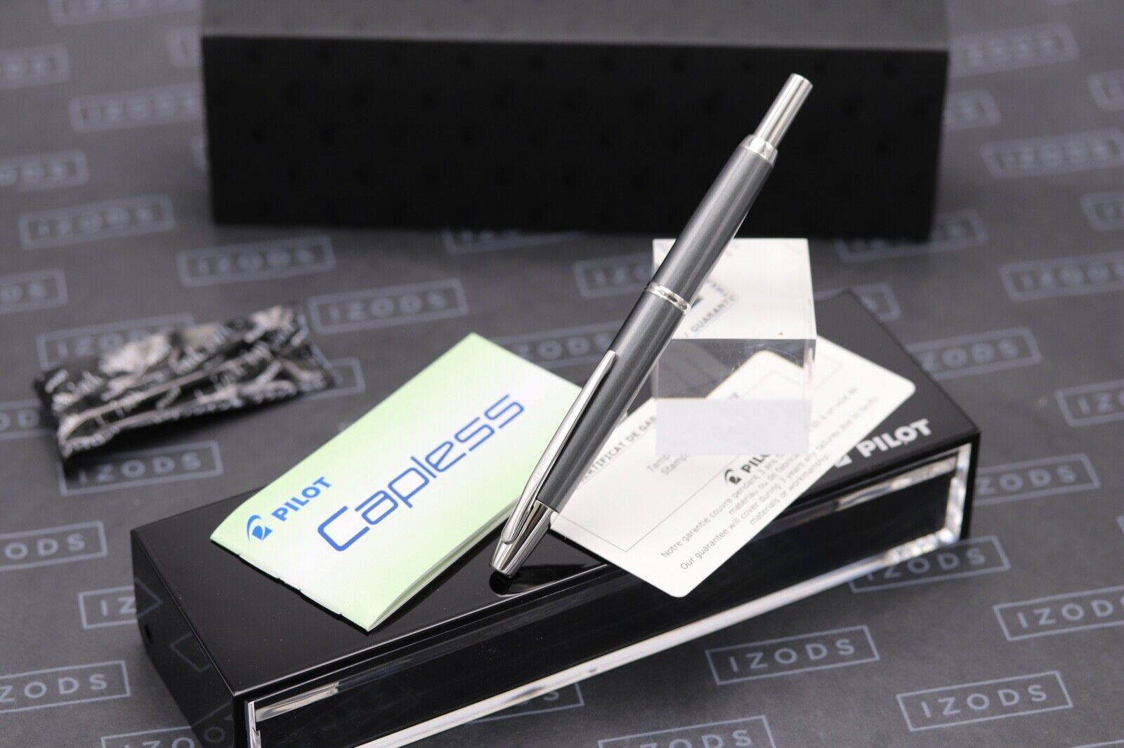 Pilot Vanishing Point Capless Decimo Grey Fountain Pen