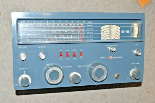 NATIONAL NC-140 GENERAL- COVERAGE RECEIVER pro serviced HAM AMATEUR RADIO