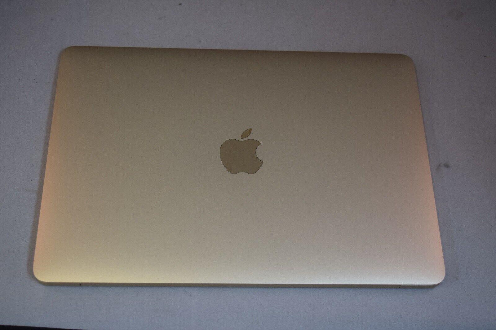 "Apple MacBook 12"" Laptop - MK4M2LL/A (2015, Gold) NR Free Ship"