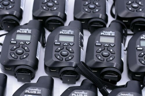 POCKET WIZARD PLUS III TRANSCEIVER **MULTIPLE AVAILABLE**