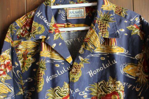 Vintage Kalaheo Hawaiian shirt size extra large.