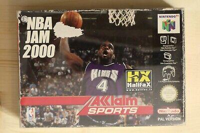 NBA Jam 2000 - OVP/Boxed Nintendo 64 N64 PAL