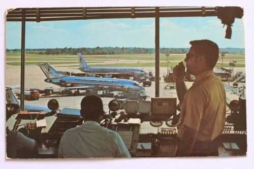 Postcard GREATER CINCINNATI AIRPORT from Control Tower, 1972