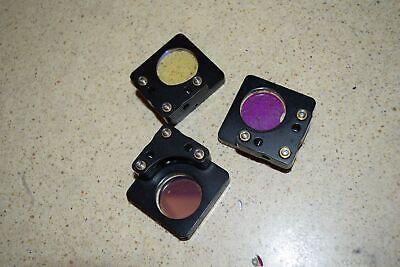 Jm New Focus 9884 Mirror Mount 1 - Lot Of 3 T1