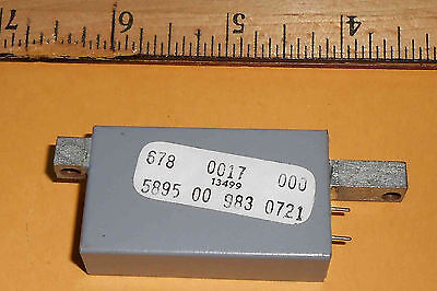 678-0017-000 Band Pass Filtermill Module  New Old Stock
