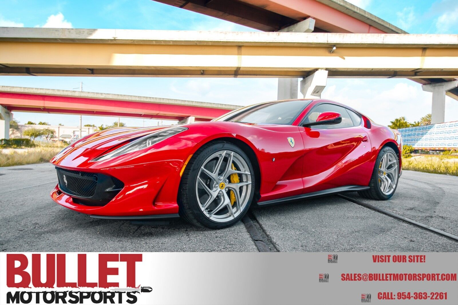 2018 Ferrari 812 Superfast, Highly Optioned, Zero Imperfections, 150 Miles!