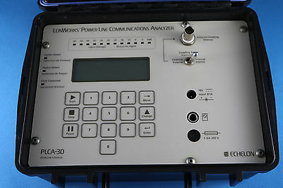 Echelon 57010 13  Plca 30 Lonworks Power Line Communication Analyzer