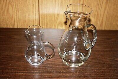 2 - PRINCESS HOUSE HERITAGE CAT TAIL HANDLE PITCHER - $25.99