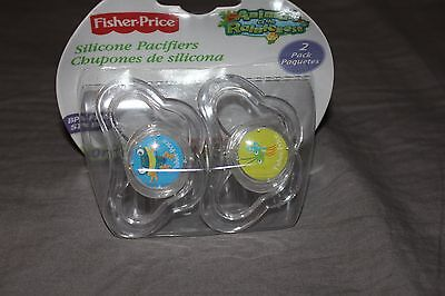 Fisher-Price   Baby Pacifier Animals of the Rainforest - Fisher Price Animals Of The Rainforest