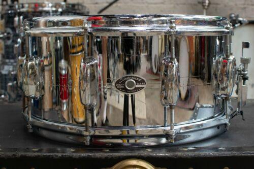 1970s Slingerland 6.5x14 Gene Krupa Sound King Snare Drum