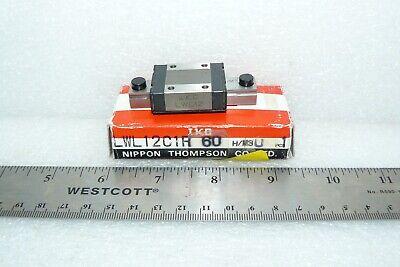 "20.5/"" D46 2 IKO Linear Way E LWES15 Bearings on One Motion Rail 520mm"