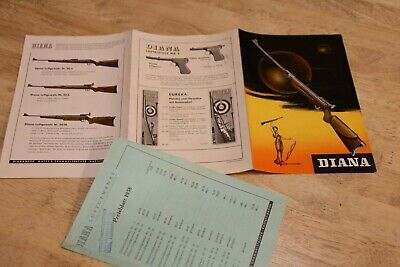 Gebraucht, 1958 DIANA Luftgewehre, Katalog + Preisliste gebraucht kaufen  Bernau