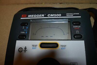 Avo Megger Cm500 Installation Tester - New 1a
