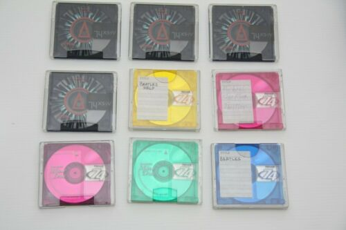 Mixed Lot Of 9 MiniDisc TDK xs:iv Maxell 74 min Lot5