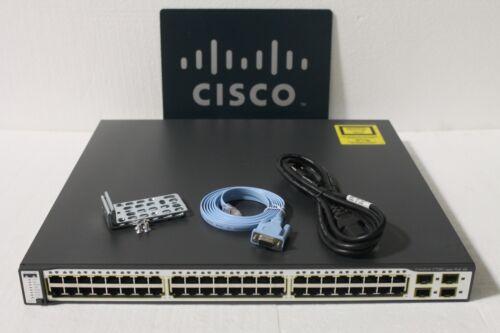 CISCO WS-C3750G-48PS-S 3750G SERIES Gigabit Switch 1year Warranty