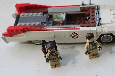 Lego Ghostbusters Ambulance Incomplete Ghost Busters two Figures and Ambulance