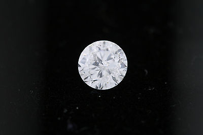 GIA .57ct Round Loose Diamond F color, I2 clarity 5.18-5.20 x 3.22mm