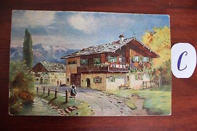 Postkarte Ansichtskarte Österreich Austria Tiroler Bauernhaus