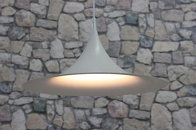 FOG & MORUP SEMI PENDEL LAMPE DECKENLAMPE HÄNGELAMPE DANISH 70er