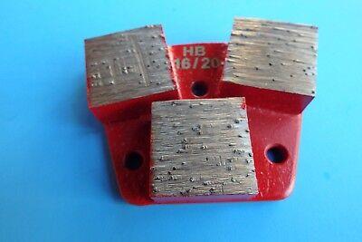 1620-3 Big Segment Hard Bond Diamond Tool-trapezoid Metal Bond-concrete Grind