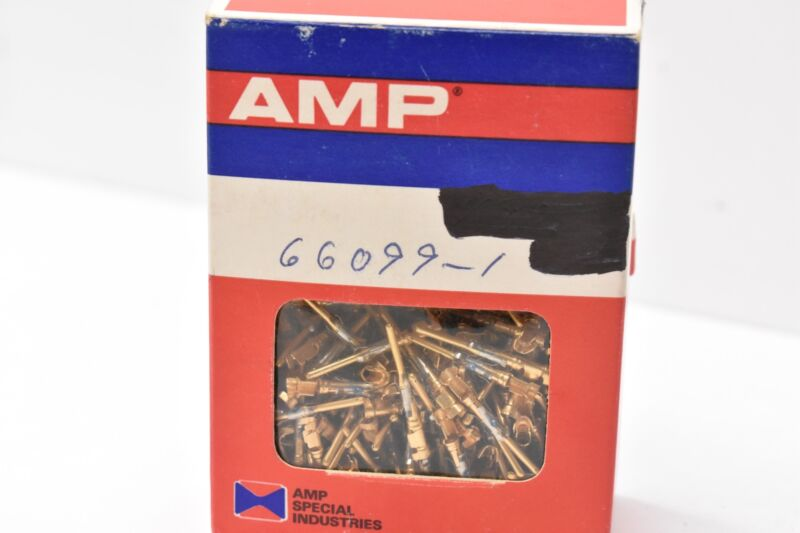 AMP 1-66099-5 Contact Pin 18-16AWG ( LOT OF 100 )
