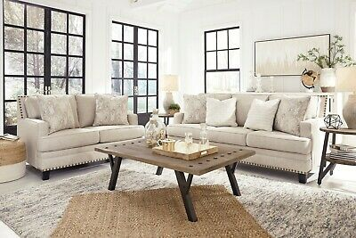 Ashley Furniture Claredon Sofa and Loveseat Living Room Set