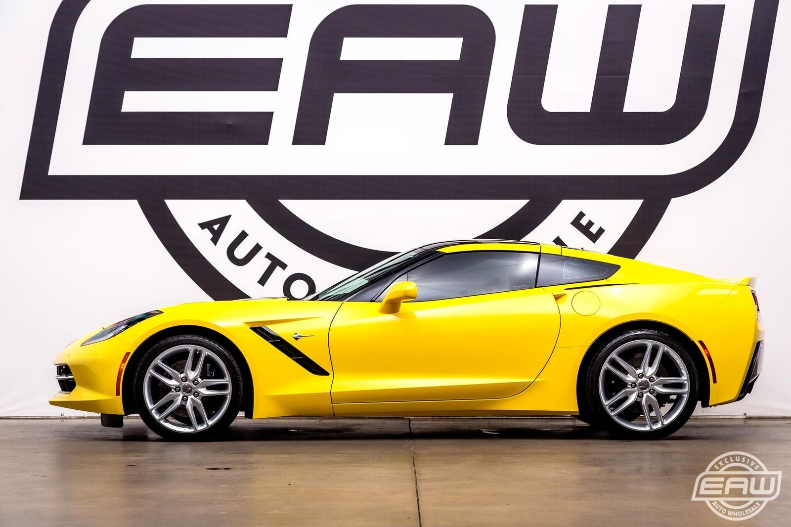 2016 Yellow Chevrolet Corvette Stingray 2LT | C7 Corvette Photo 3