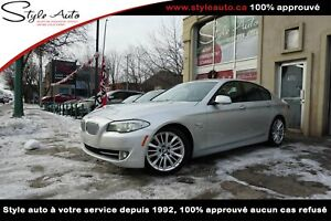 2011 BMW 5 Series Traction intégrale xDrive 550i Berline SPORT P