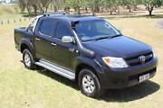 2005 Toyota Hilux GGN25R SR5 Utility Dual Cab 4dr Auto 5sp 4x4 Merrimac Gold Coast City Preview