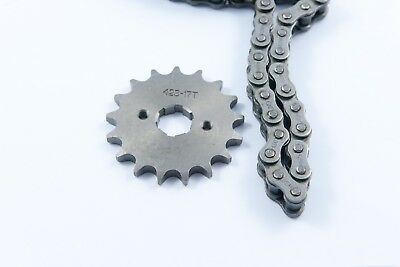 <em>YAMAHA</em> YBR 125 CHAIN AND FRONT SPROCKET KIT HIGHER GEARED MORE SPEED 2