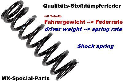 KTM SXF 450 505 525 SX-F Stoßdämpferfeder Stoßdämpfer Feder SHOCK SPRING 50-92 N online kaufen