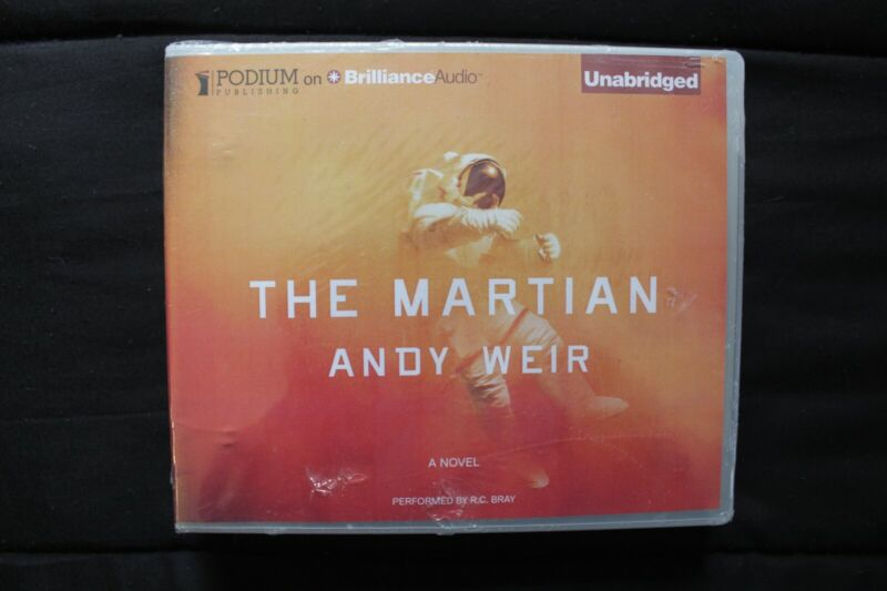 The Martian by Andy Weir (2014, CD MP3, Unabridged edition) Audiobook