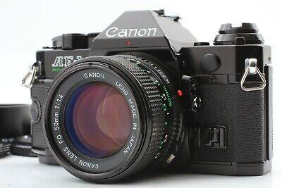 [MINT] Canon AE-1 Program Black New FD NFD 50mm f/1.4 Lens from Japan