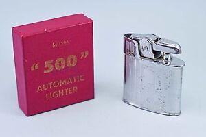 MOSDA SPORTSMAN - Vintage - Art Deco - Benzine Lighter + Original Box