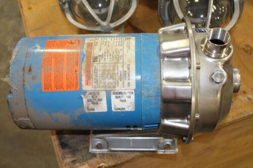 "G&L Pump NPE 1x1-1/4-6 Pump 6-1/8"" Imp. 1/2HP 208-230V/460 3PH"