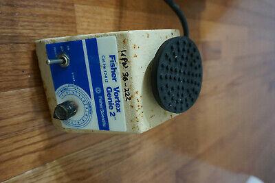 Fisher Genie 2 Vortexer Vortex Shaker Mixer Used Lab  Rotator Mini Touch Vend