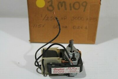 Dayton Electric Motor - 1250hp - 115v - 3000rpm - 3m109 - Nos
