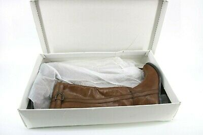 PAOLA FERRI LADIES BROWN LEATHER OVER KNEE BOOTS SIZE 37